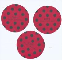 3 X Singapore Perfume Cards Carte Parfumee --  Marc Jacobs DOT - Perfume Cards