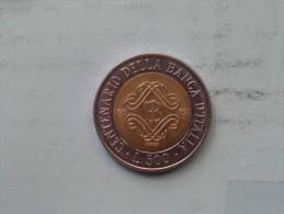 1993 - 500 Lire - KM 160 ( Uncleaned - For Grade, Please See Photo ) ! - 1946-… : République