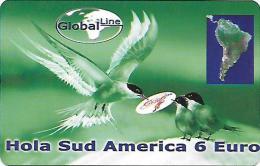 Prepaid: Global Line - Icebirds Sud America - Sonstige