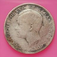 Portugal 200 Reis 1909 D. Manuel II Silver - Portugal
