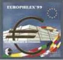 """CNEP N°  29 De 1999 Bloc """" Strasbourg - Anniversaire Du Conseil De L'Europe - CNEP"""