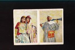 Vin - Sénéclauze - Oran Algérie - Double Carte Illustrée Avec Tarif - Type Marocain, Jeunes Kabyles - 1900 – 1949