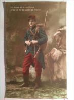 Guerre De 1914, Le Calme Et La Vaillance C'est Le Lot Du Soldat De France, Soldat De Cahors - War 1914-18