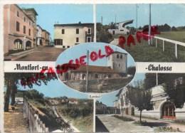 40 - MONTFORT EN CHALOSSE - STADE- EGLISE - Montfort En Chalosse