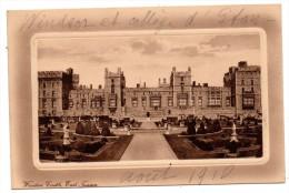 CP, ROYAUME-UNI, ANGLETERRE, BERKSHIRE, Windsor Castle, East Ferrace, Ecrite En 1910
