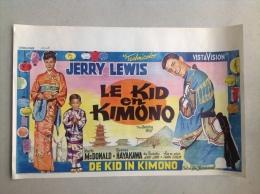 "Jerry Lewis Le Kid En Kimono ""the Geisha Boy""marie Mc Donald ,Sessue Hayakawa Affiche Ancienne Judo 1958 - Affiches & Posters"