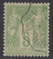 N° 102 - O - - 1898-1900 Sage (Type III)