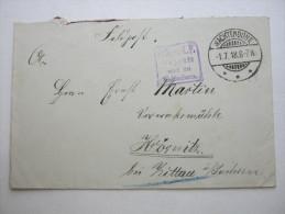 1918, WACHTENDONK      ,   Feldpostbrief   Mit Truppensiegel - Brieven En Documenten