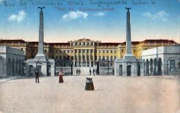 Österreich Postal Militaire 1917 - Carte Postale - Château De Schönbrunn