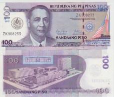 Philipines 100 Piso 2012 Pick 214 UNC Grand Lodge - Philippines