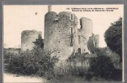 HERBIGNAC . Ruines Du Château De Ranrouët , L'Entrée . - Herbignac