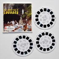 VIEW-MASTER : Les PELERINS à LOURDES - Années 1950 - Stereoscoopen