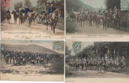 Armée ALLEMANDE Beau Lot De 4 Cartes (1) - Allemagne