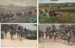 Armée ALLEMANDE Beau Lot De 4 Cartes (2) - Allemagne