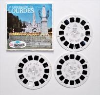 VIEW-MASTER : Le SANCTUAIRE De LOURDES - Années 1950 - Stereoscoopen