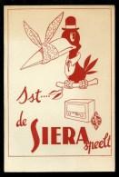 Buvard  Vloeipapier  :  Radio SIERA - Blotters