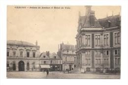 (1299-02) Chauny - Palais De Justice Et Hôtel De Ville - Chauny