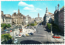 Porto: AUSTIN A40 CAMBRIDGE & A40 MK2, CITROËN DS BREAK, FORD 17M P3, VOLVO AMAZON,VW 1200,PEUGEOT 403,CITROËN 2CV BACHE - Passenger Cars