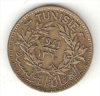*tunesia  50 Centimes 1941   Km 246  Xf+!!! - Tunisia