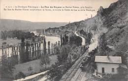 Souillac (environs De)    24    Le Pas Du Raysse. Ligne De Chemin De Fer - France
