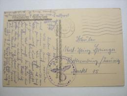 1941, Strassburg , Carte Militaire - Alsace-Lorraine