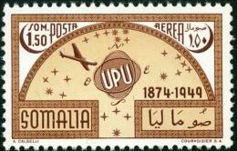 SOMALIA, AFIS, UPU, POSTA AEREA, AIRMAIL, 1953, FRANCOBOLLO Nuovo (MNG), C35 - Somalie (AFIS)