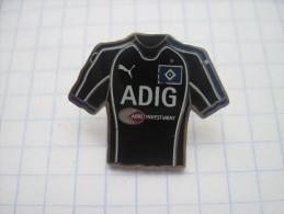 Football. Germany. HSV - Hamburger SV. Away kit for 2006 seson.  Cloisonne/ hot enamel