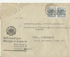 = DEUTSCHE POST 1948 SCHLESWIG - Zona AAS