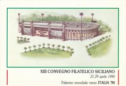 PALERMO STADIO DI CALCIO PER I MONDIALI DEL 1990 - Palermo