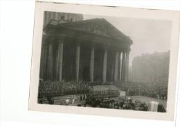 F4-9 Cinquantenaire Republique Paris Novembre 1920 Cérémonie Devant Pantheon Etat Major Chevaux Defunt Commemoration - Krieg, Militär