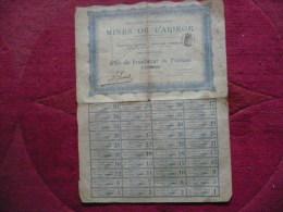 Action 1898 /  Division En 2250 Actions Seulement :   Mines De L' Ariège  Part De Fondateur Au Porteur / . - Autres