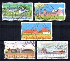 Belgium - 2001 - Large Farmhouses - Used - Belgique