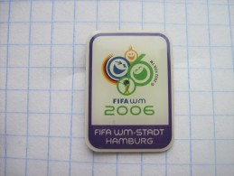 Germany .FIFA WM 2006  Stadt Hamburg. Photo-etched Soft Enamel