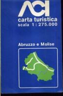 ACI CARTA TURISTICA SCALA 1 : 275.000 ABRUZZO E MOLISE - Carte Stradali