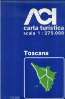 ACI CARTA TURISTICA SCALA 1 : 275.000 TOSCANA - Carte Stradali