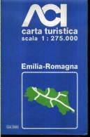 ACI CARTA TURISTICA SCALA 1 : 275.000 EMILIA ROMAGNA - Carte Stradali