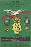 MARSALA GENNA VINO CHINATIU' ANNI '40 - Etichette