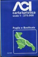 X ACI CARTA TURISTICA SCALA 1 : 275.000 PUGLIA E BASILICATA - Carte Stradali