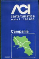 ACI CARTA TURISTICA SCALA 1 : 190.000 CAMPANIA - Carte Stradali