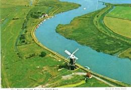 Postcard - Berney Arms Windmill, Norfolk Broads. 2DS89 - Mulini A Vento