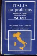 ACI ENIT ITALIA NO PROBLEMS CARTA STRADALE   SCALA 1 : 1.500.000 ITALIA - Carte Stradali