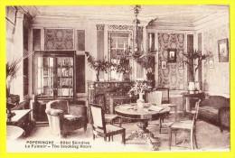 * Poperinge - Poperinghe (Bij Ieper - Ypres) * (Photo Anthony Ypres) Hotel Skindles, fumoir, Smoking room, chemin�e, TOP