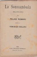 LA SONNANBULA MELODRAMMA 1916  AUTENTICO 100% - Cinema E Musica