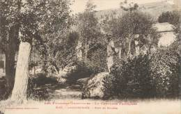 "CPA FRANCE 66 ""Angoustrine, pont et riviere"""