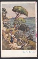 CROATIA - Rab, Island Rab, Arbe, Year 1926, Art Postcard - Croatia