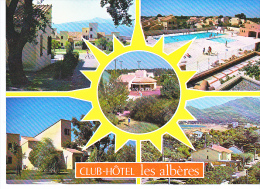 "24091 ARGELES SUR MER. CLUB HOTEL ""LES ALBERES"".  Ed Dino 5594-L"