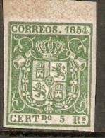 1854 EDIFIL 26** REIMPRESION - 1850-68 Kingdom: Isabella II