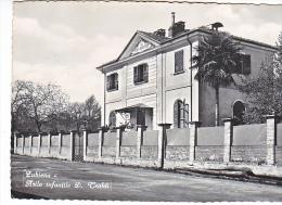 24093 Zubiena Asilo Infantile D Tealdi -Mario Dettoma 1950 Giov Biella -fontaine -bord Gauche Coupé
