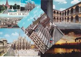 10 CART. MILANO (132) - Cartes Postales
