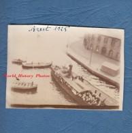 Photo ancienne - BREST ( Finist�re ) - Beau bateau avec Marins - 1925 - Marine Nationale Marin